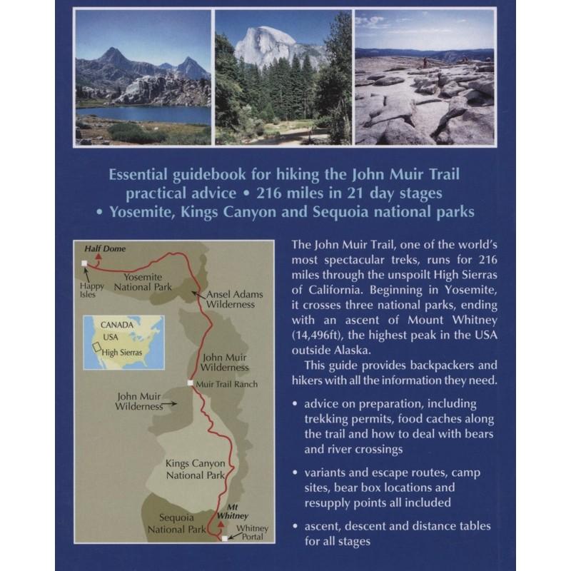 Trekking The John Muir Trail: Through the Californian Sierra Nevada by Cicerone
