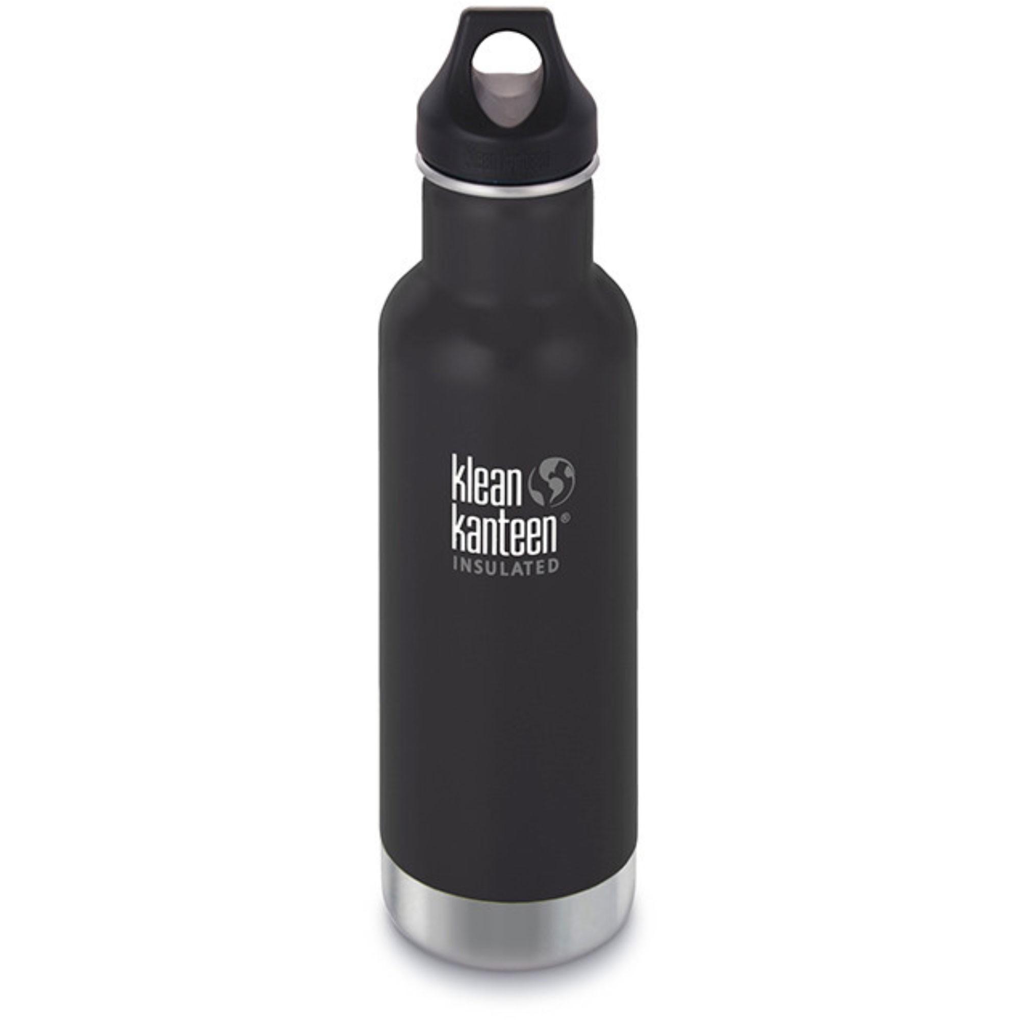 KLEAN KANTEEN - Classic Insulated Flask - 592ml - Shale Black (Matt)