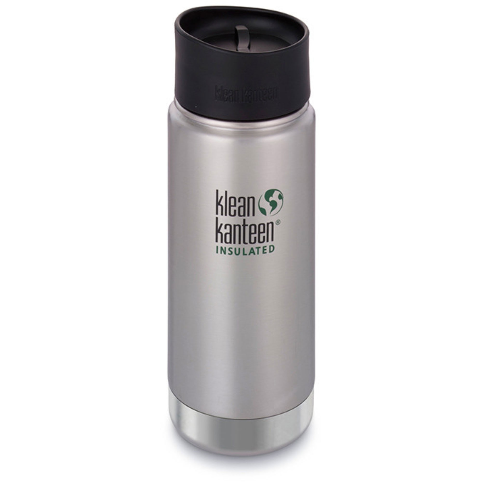 KLEAN KANTEEN - Insulated Cafe Cap Flask - 473ml - Stainless Steel