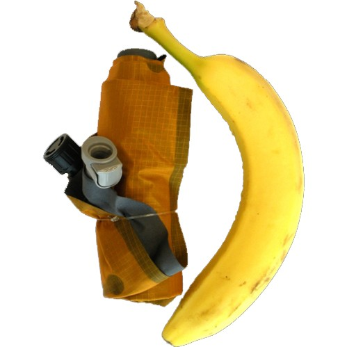 Klymit Inertia X-Lite - Banana for scale