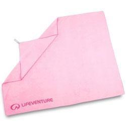 Lifeventure Soft Fibre Trek Towel - Pink Giant