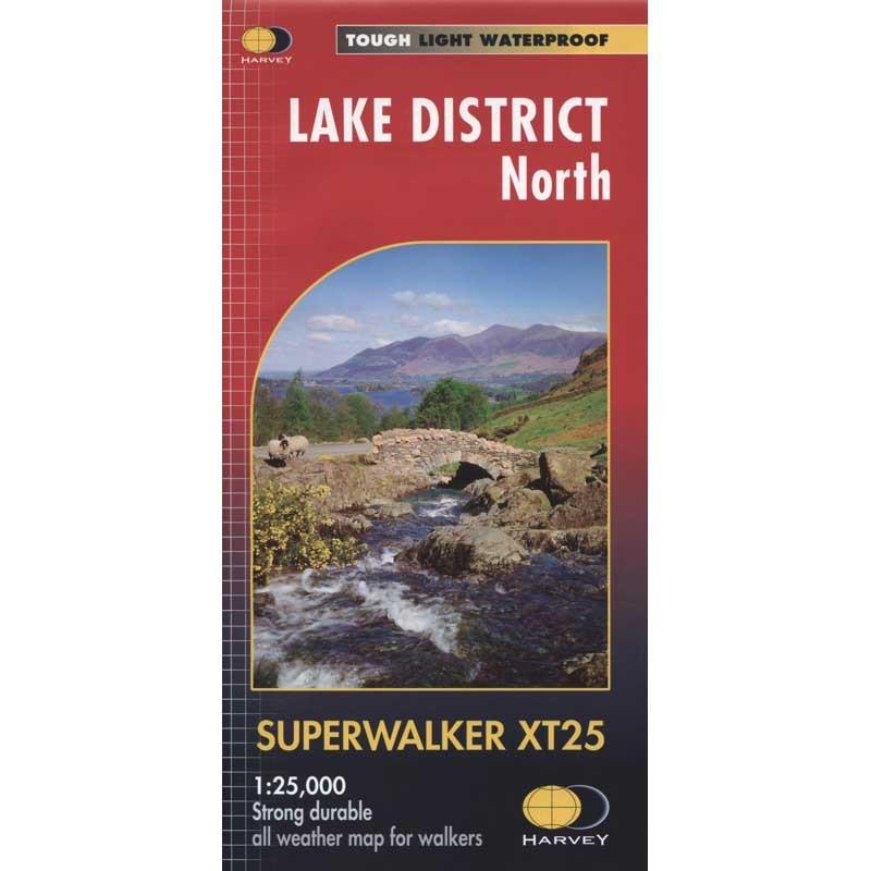 Lake District North: Harvey Superwalker XT25