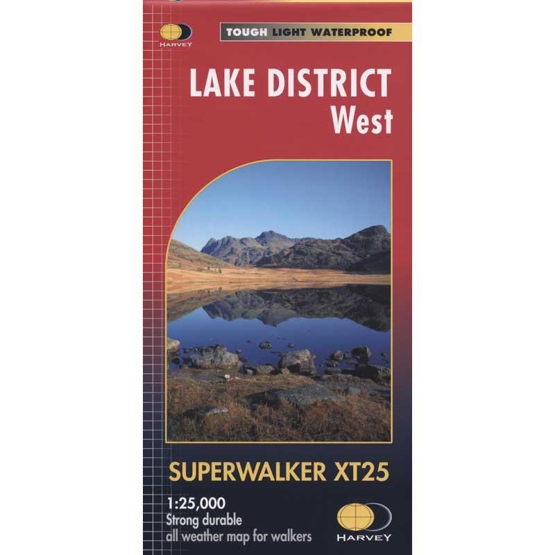 Lake District West: Harvey Superwalker XT25 by Harvey