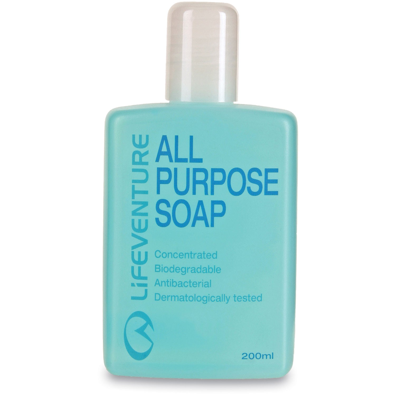 Lifeventure All Purpose Soap - 200ml Blue