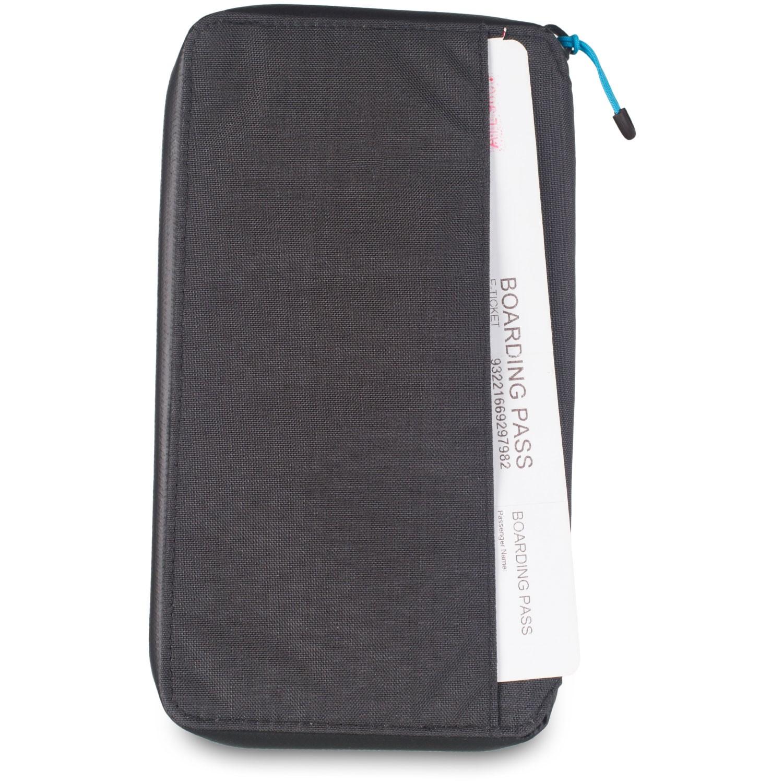 Lifeventure RFiD Document Wallet Grey