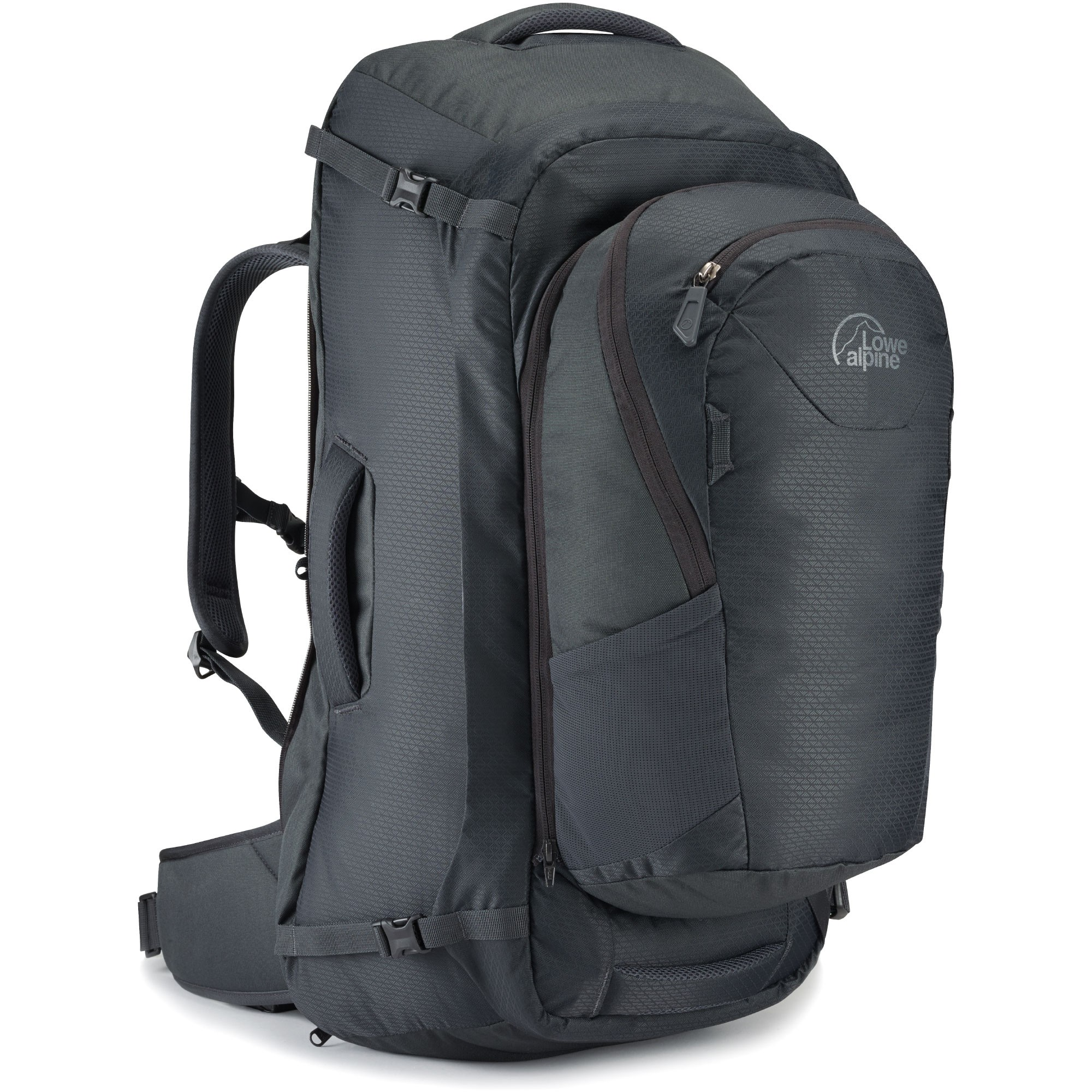 The Lowe Alpine AT Voyager 70 (55+15 litres) Travel Bag