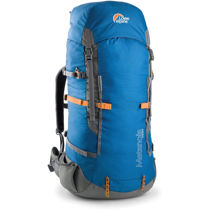 The Lowe Alpine Metanoia 65:80 Litre Expedition Rucksack - Surf Blue