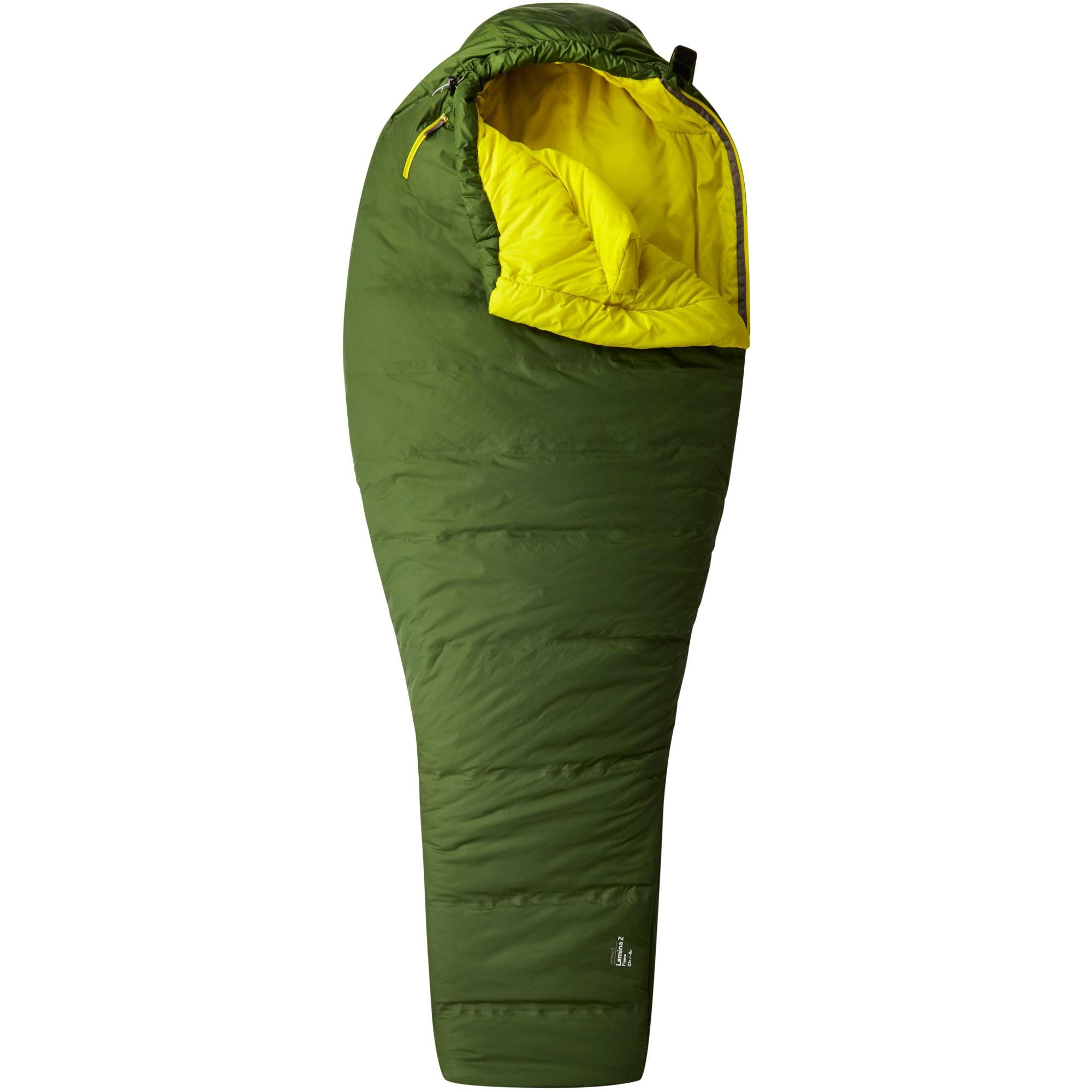 Mountain Hardwear Lamina Z Flame Men's Synthetic Insulated Sleeping Bag - Woodland