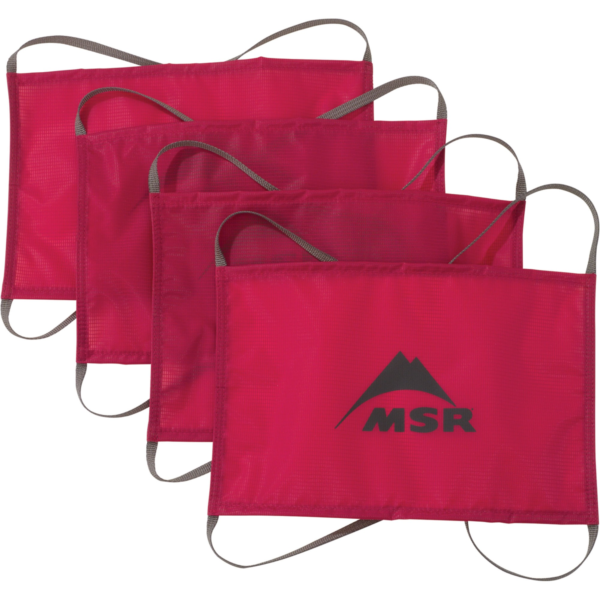 MSR Sand and Snow Tent Anchors - Red