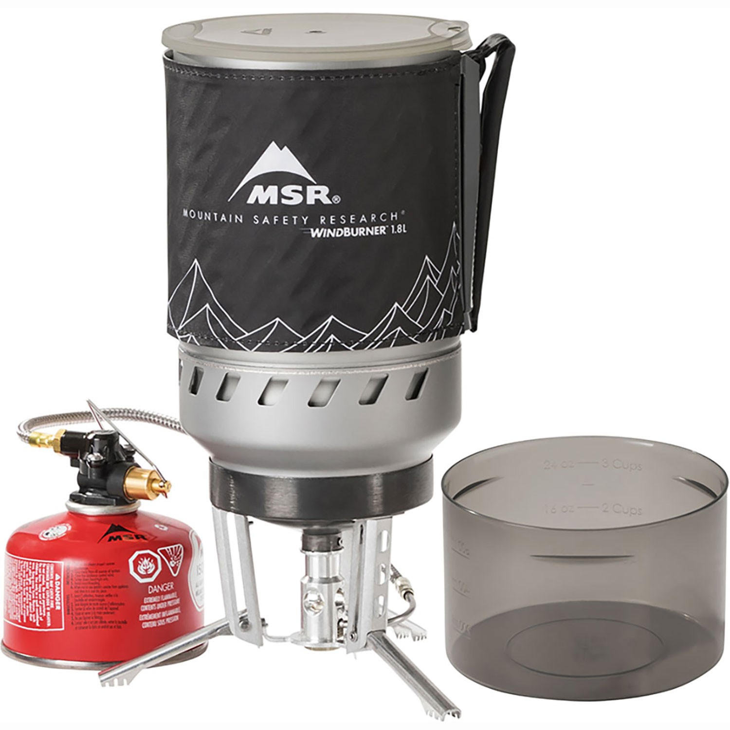 The MSR WindBurner Duo Stove System