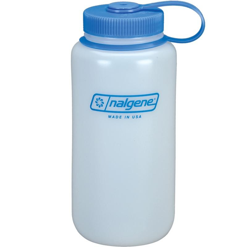 NALGENE - HDPE Widemouth Looptop Bottles - 1L
