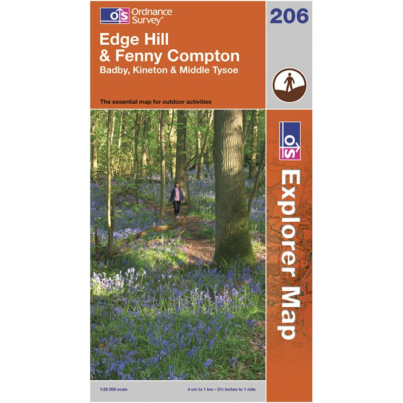 EXP206 Edge Hill & Fenny Compton: Badby Kineton & Middle Tysoe