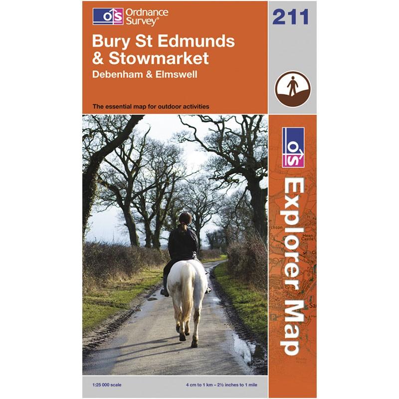 EXP211 Bury St Edmunds & Stowmarket: Debenham & Elmswell