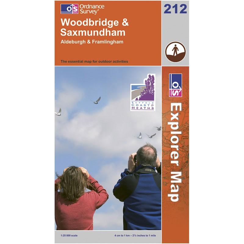 EXP212 Woodbridge & Saxmundham: Aldeburgh & Framlingham