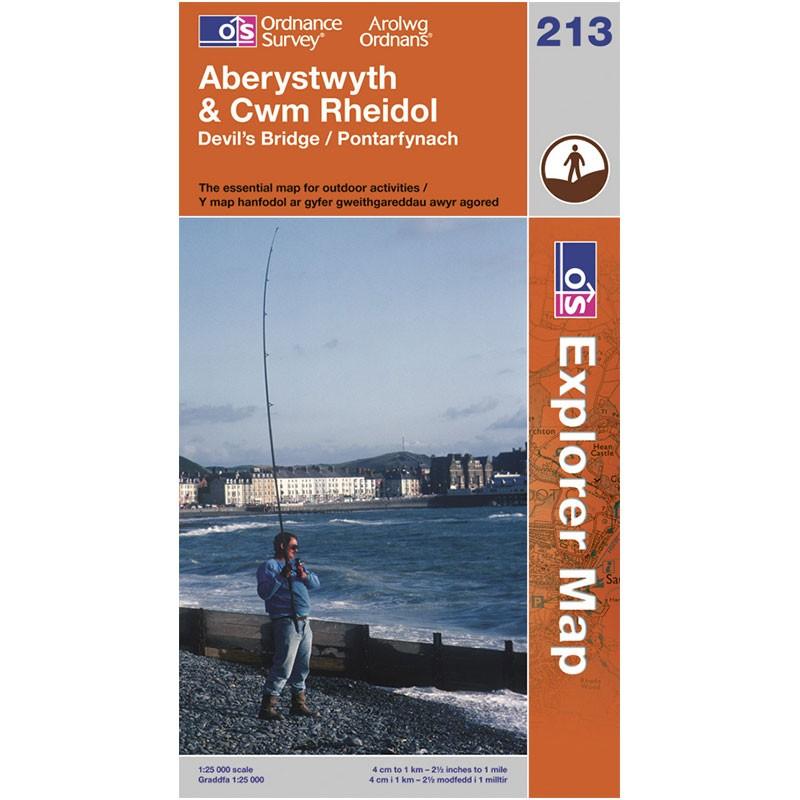 EXP213 Aberystwyth & Cwm Rheidol: Devils Bridge - Pontarfynach