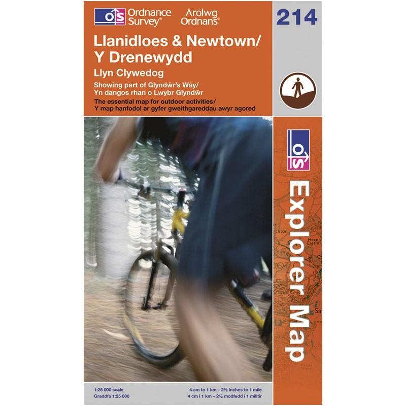 EXP214 Llanidloes & Newtown - Y Drenewydd: Llyn Clywedog