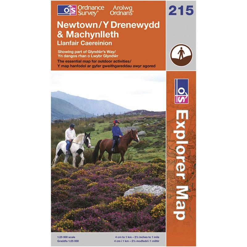 EXP215 Newtown - Y Drenewydd & Machynlleth: Llanfair Caereinion