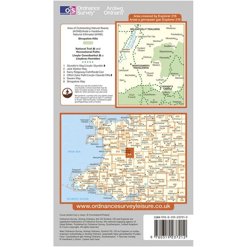 EXP216 Welshpool & Montgomery - Y Trallwng a Threfaldwyn: Bishops Castle