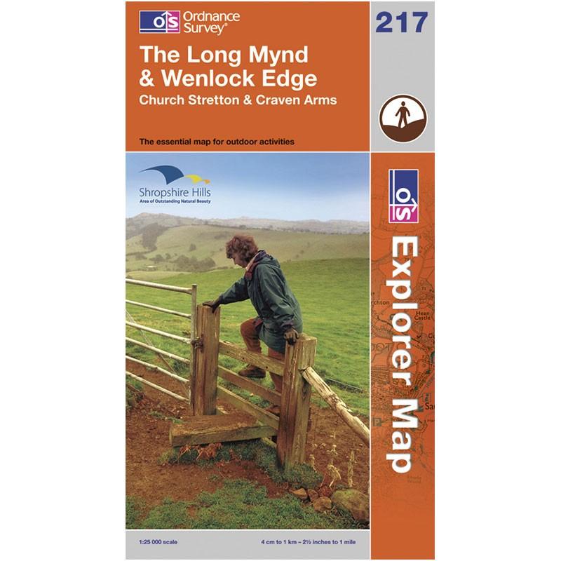 EXP217 The Long Mynd & Wenlock Edge: Church Stretton & Craven Arms