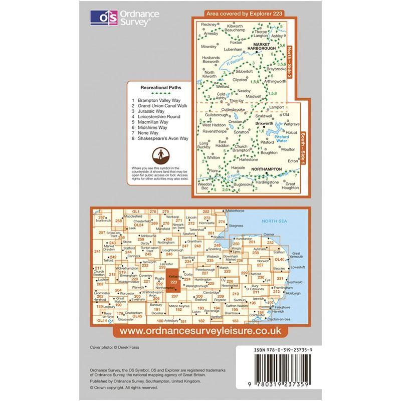 EXP223 Northampton & Market Harborough: Brixworth & Pitsford Water