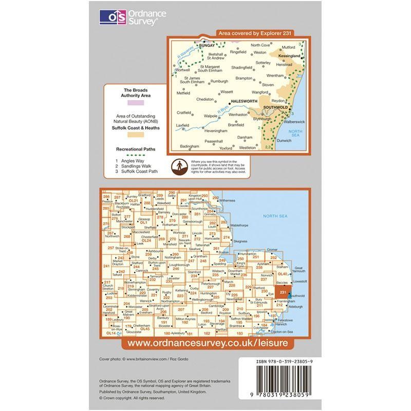 EXP231 Southwold & Bungay: Halesworth & Kessingland
