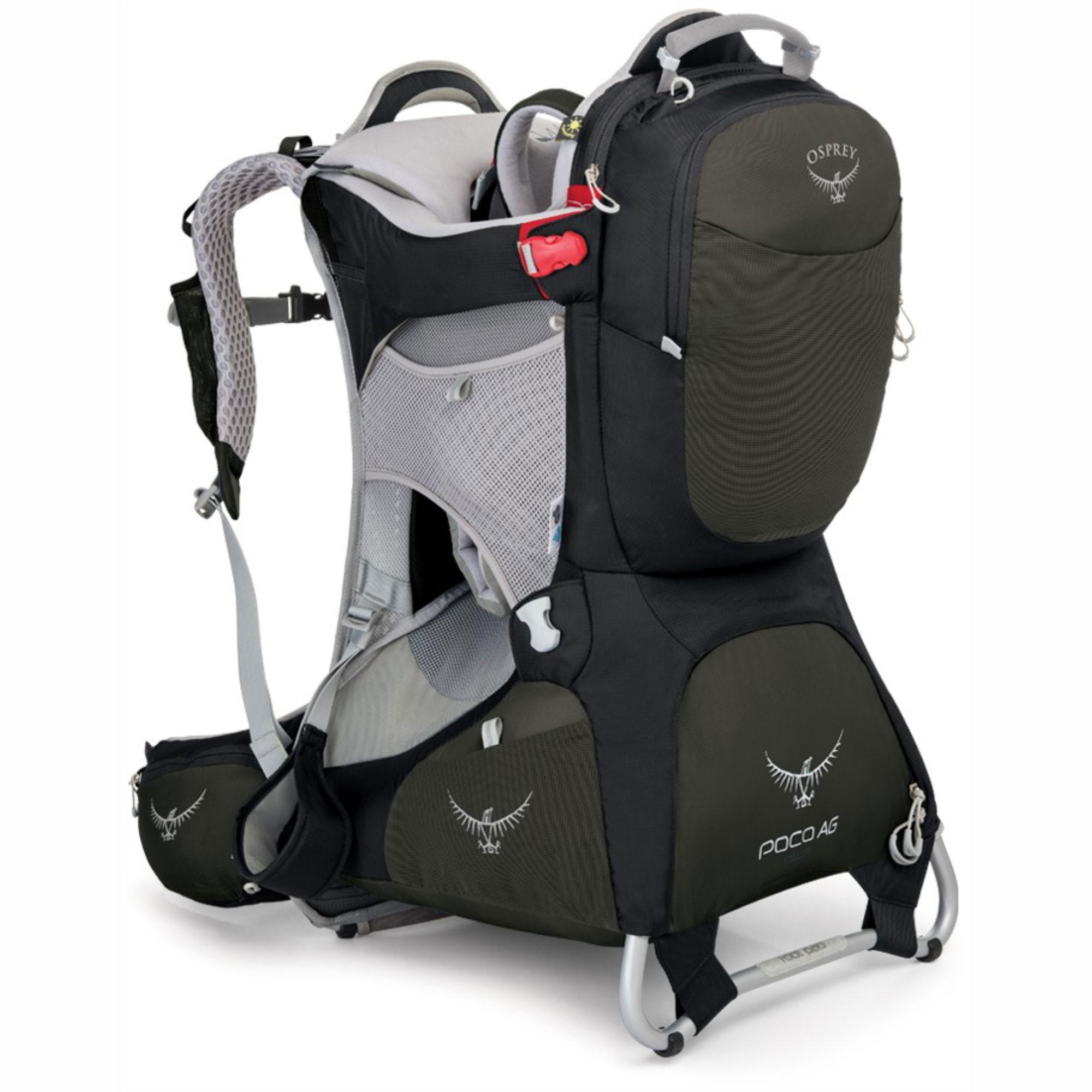 Osprey Poco AG Plus Child Carrier - Black