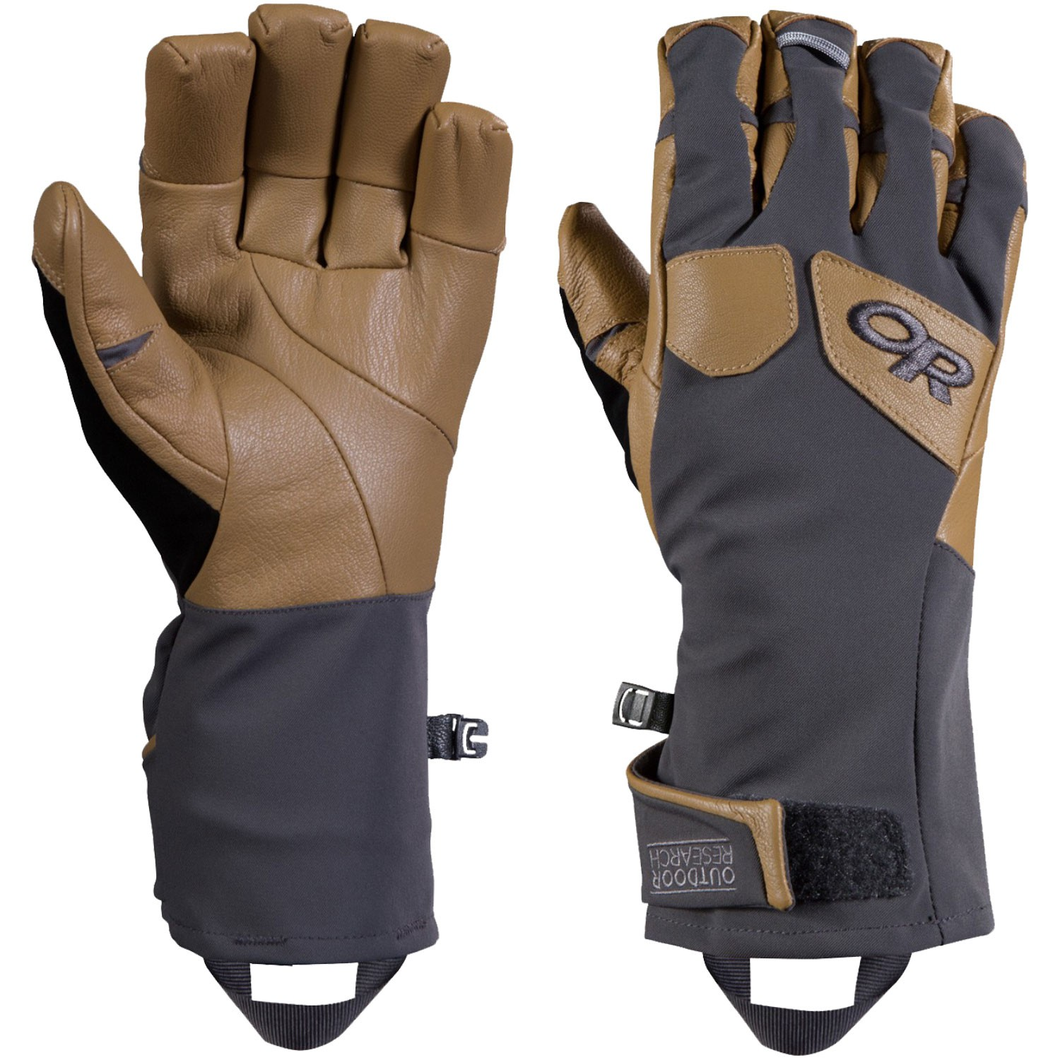 OUTDOOR RESEARCH - ExtraVert Gloves - Charcoal/Natural