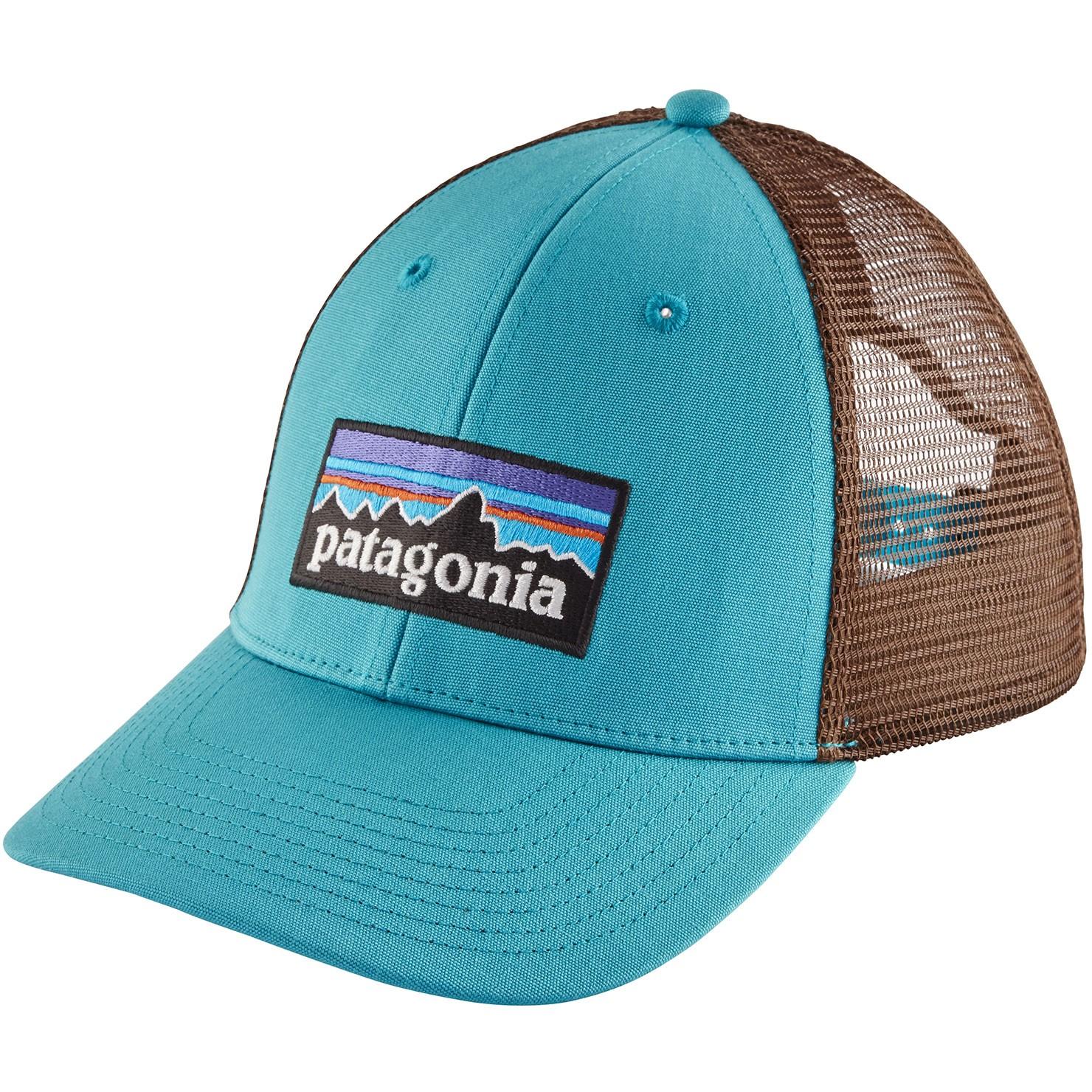 Patagonia P-6 Logo LoPro Trucker Hat - Mako Blue