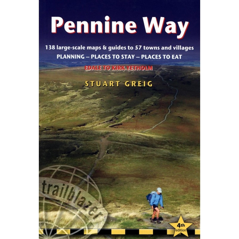 Pennine Way: Edale to Kirk Yetholm by Trailblazer Guides