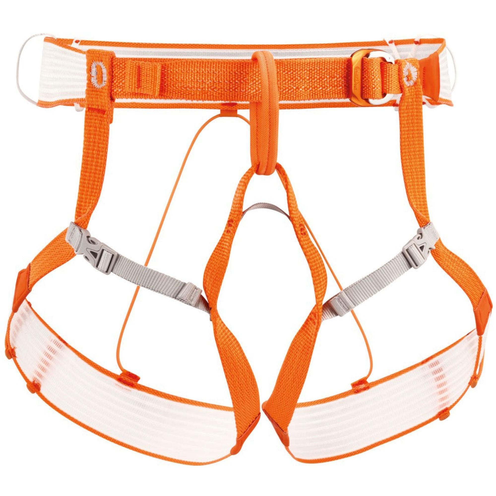 Petzl Altitude Mountaineering Harness Orange/White
