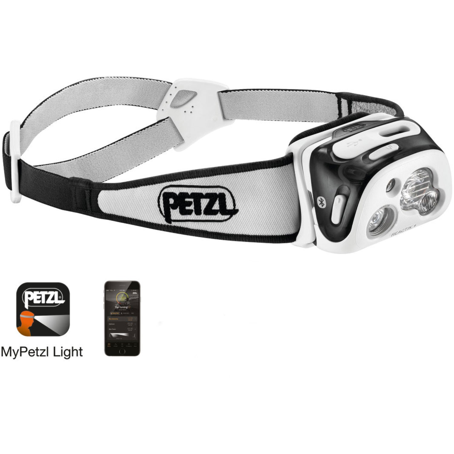 PETZL - Reactik+ Headtorch