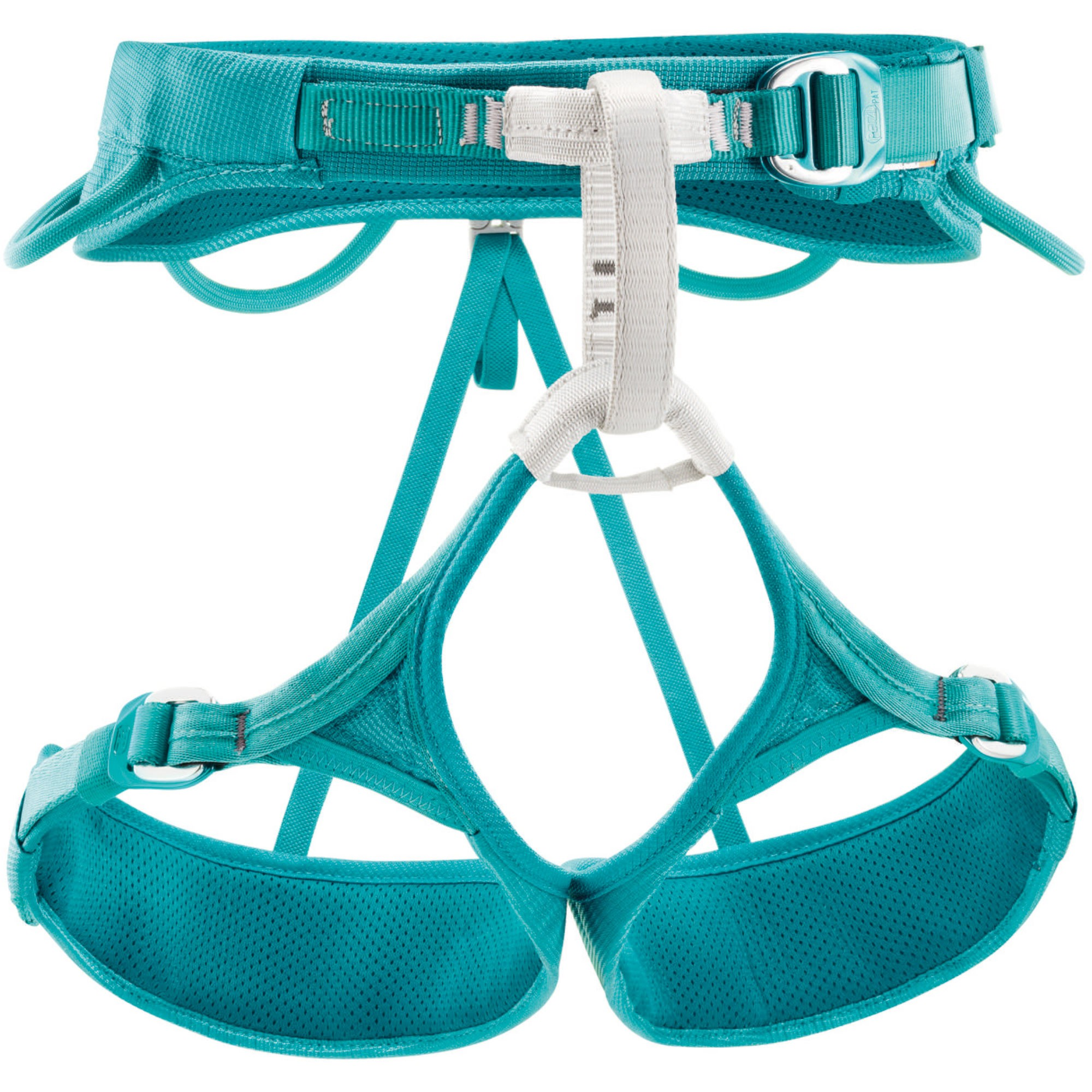 PETZL - Women's Luna Climbing Harness - Turquoise