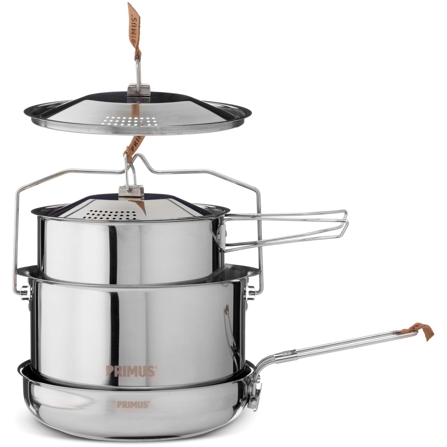 The Primus Campfire Stainless Steel Cookset - Large