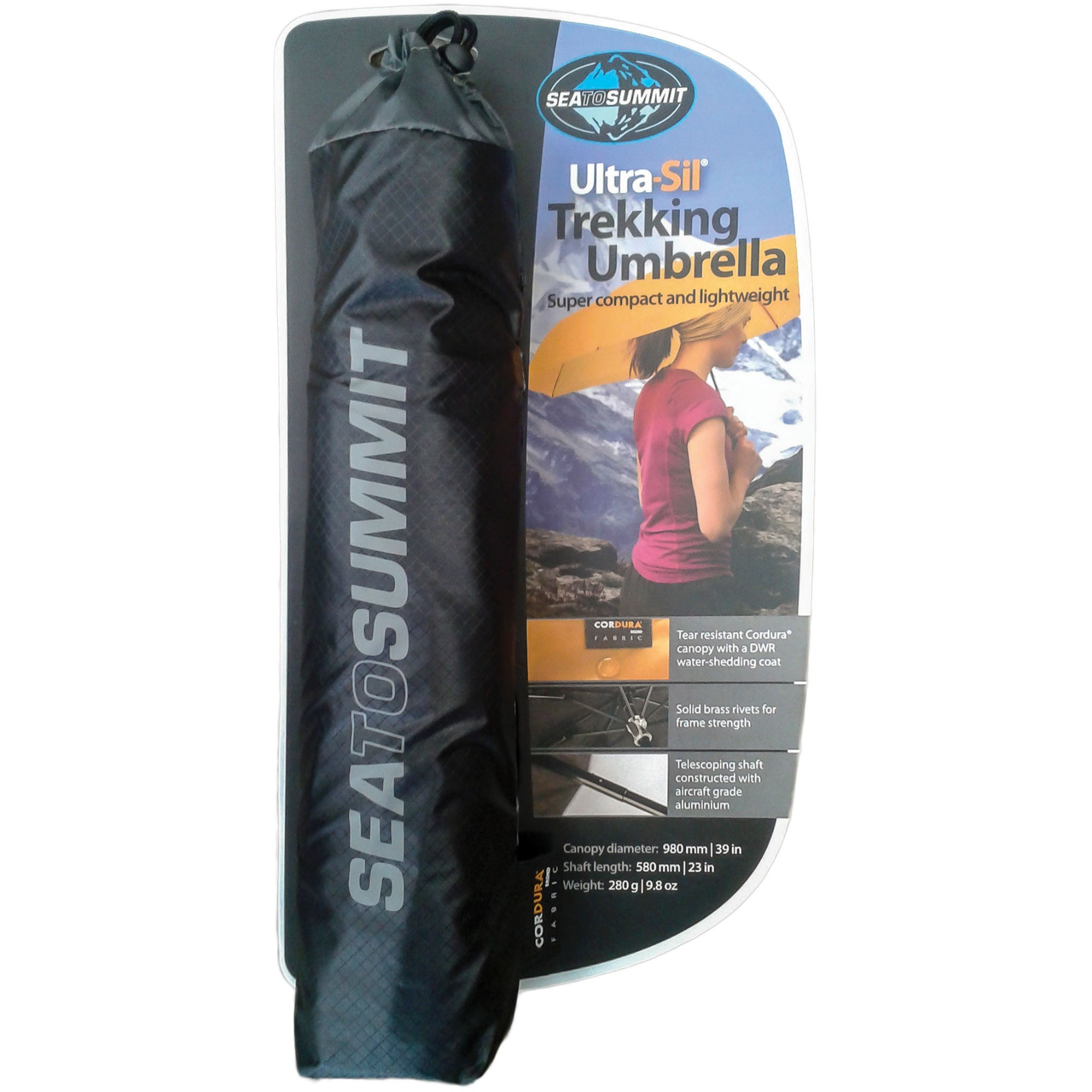 Sea to Summit Ultra-Sil Umbrella Black