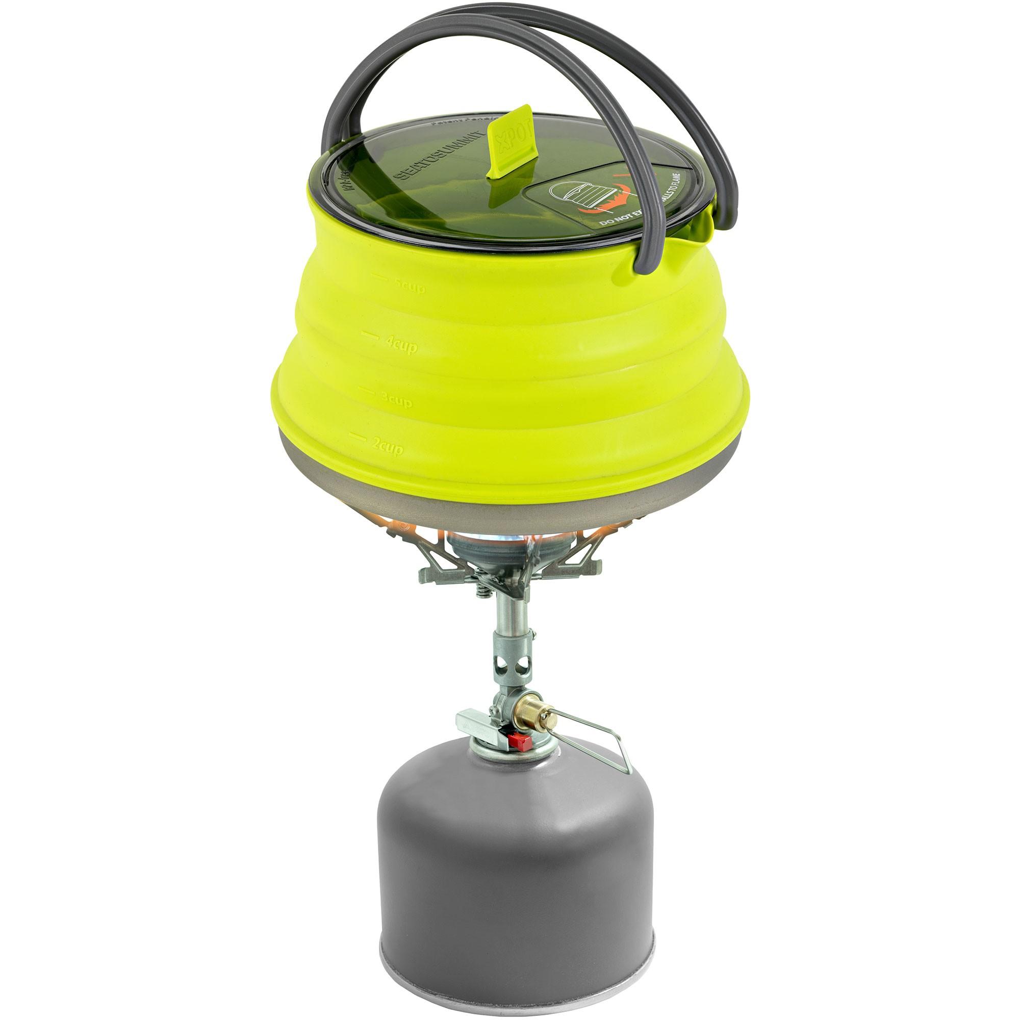 Sea to Summit X-Kettle 1.3L Lime 1.3L