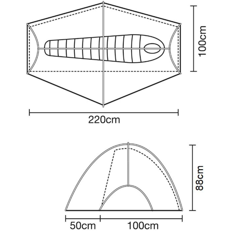 Terra Nova Southern Cross 1 Tent