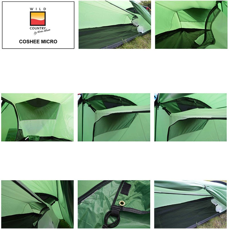 The Wild Country Coshee Micro Bivvy Tent