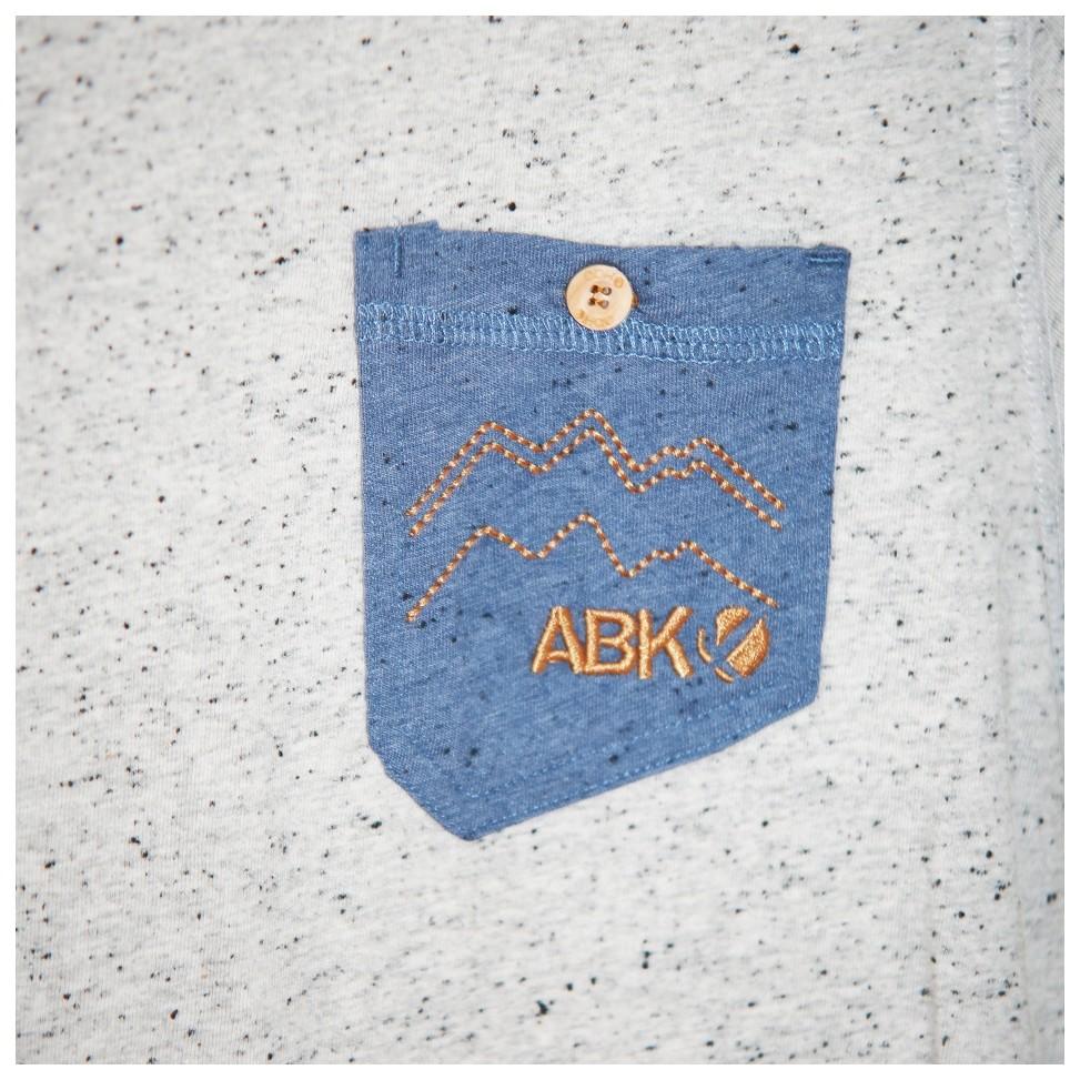 ABK Arabika Men's Tee - Light Granite