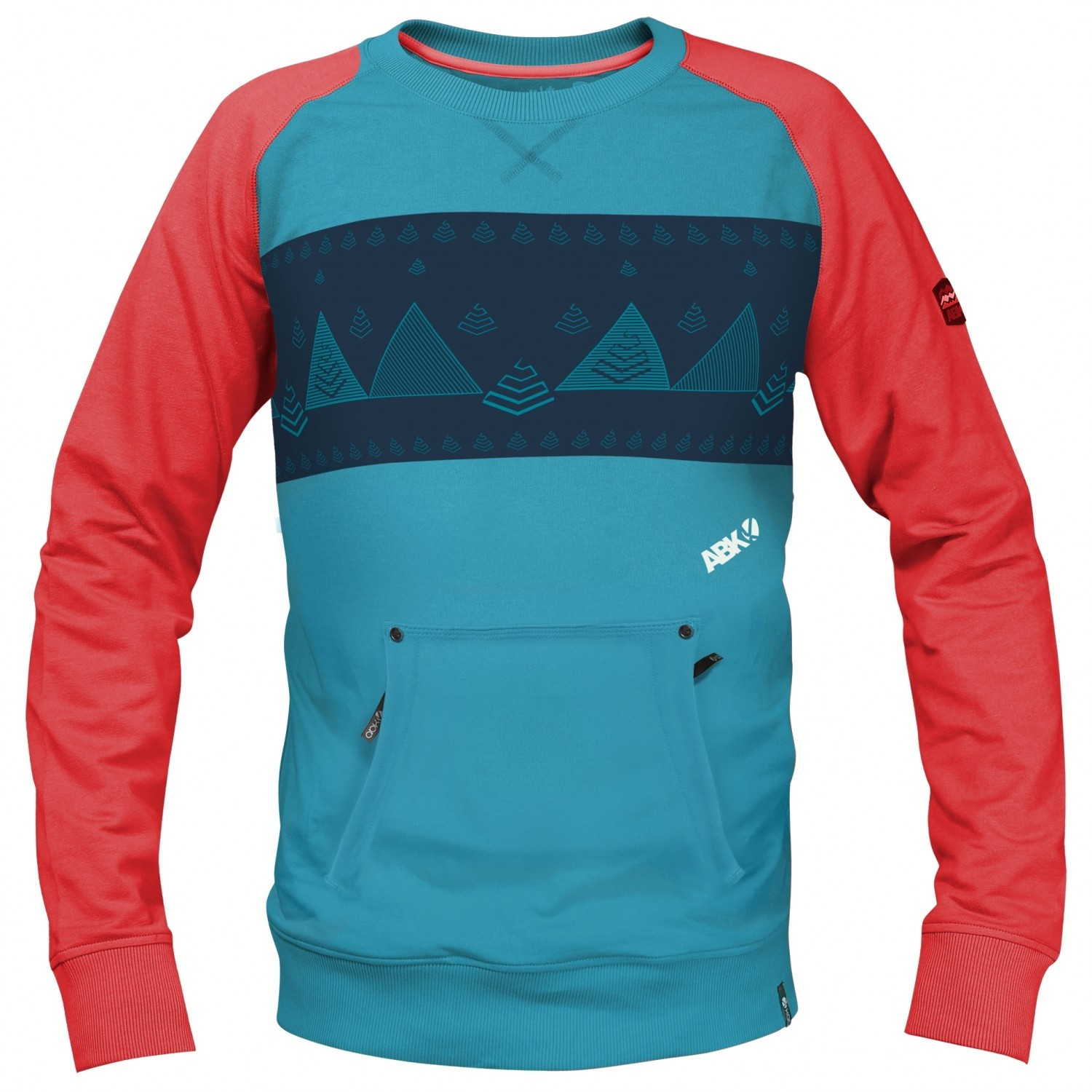 ABK Diedre Men's Sweater - Mosaic Blue