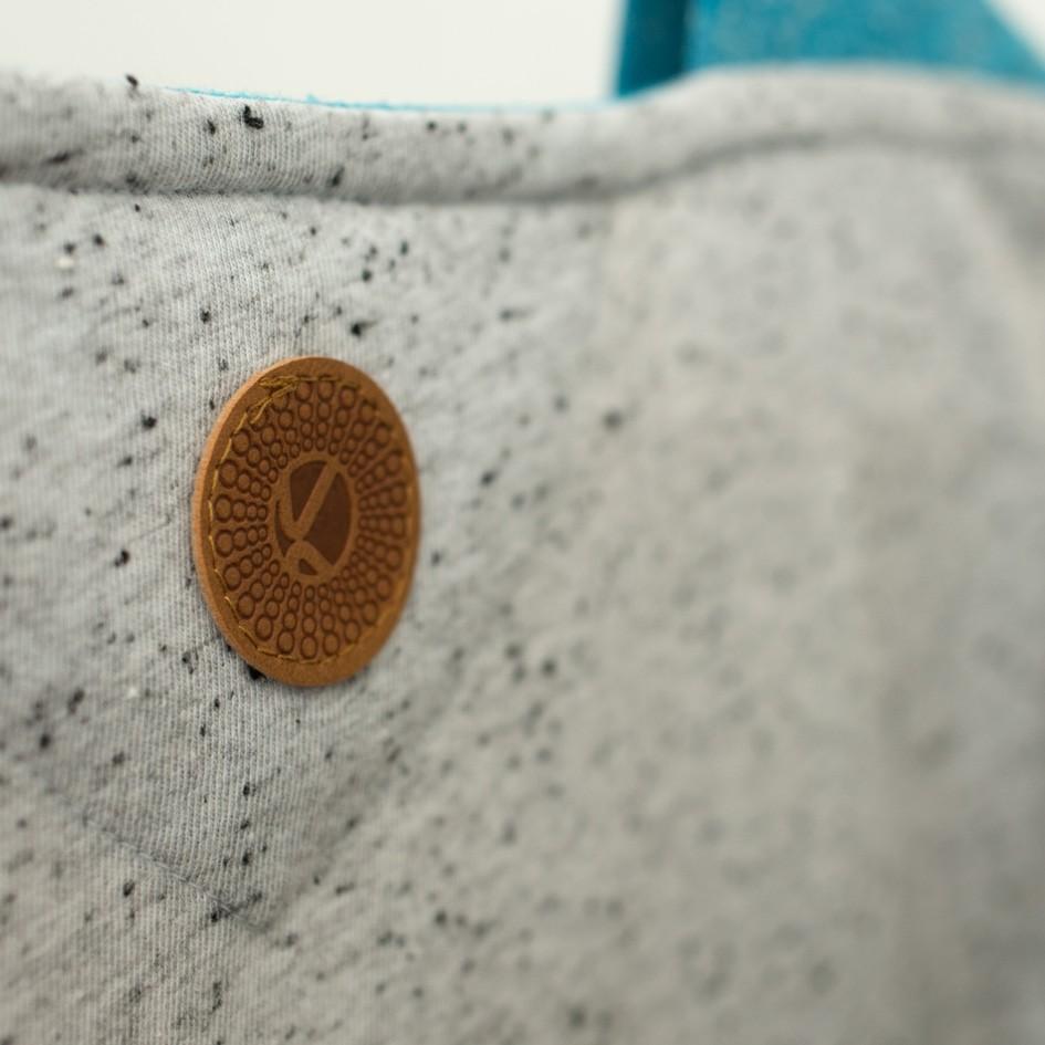 ABK Nordmann LS Women's Top - Light Granite - patch