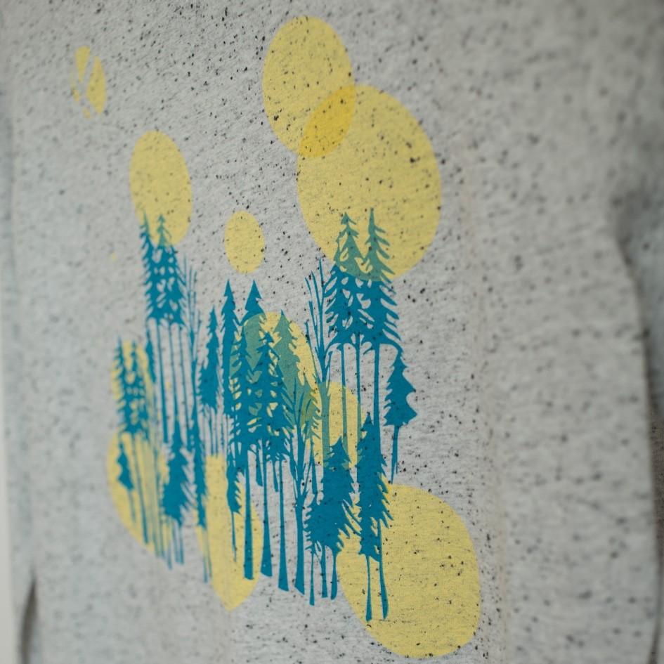 ABK Nordmann LS Women's Top - Light Granite - graphic