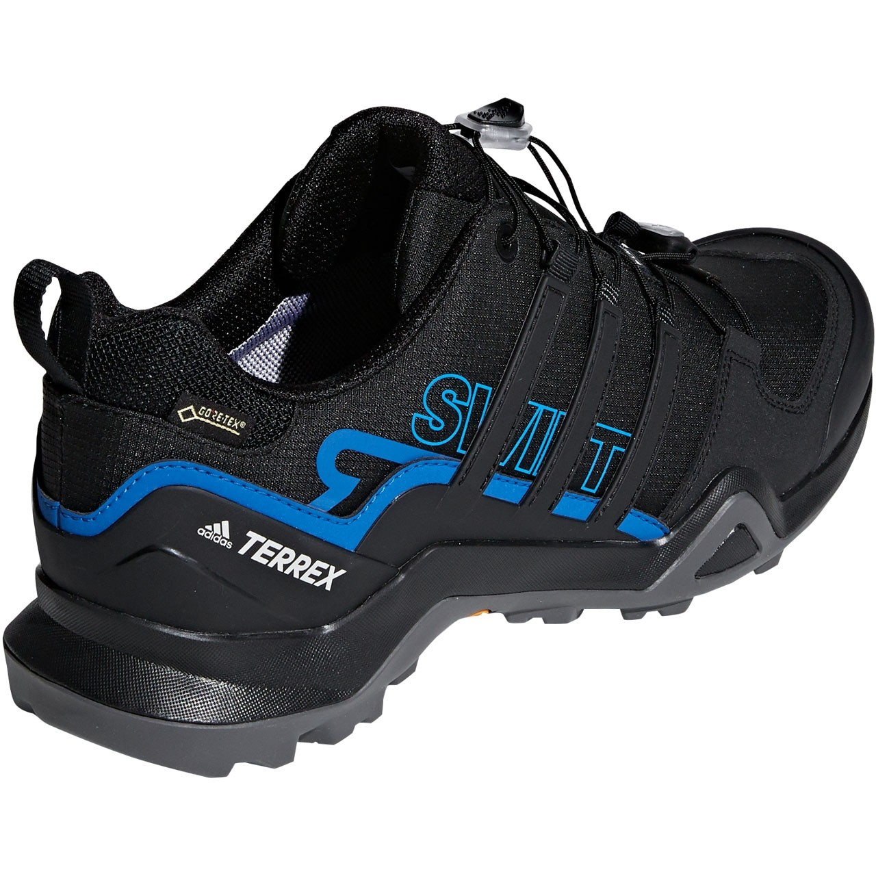 Adidas Terrex Swift R2 GTX Men's Approach Shoe - Core Black/Bright Blue