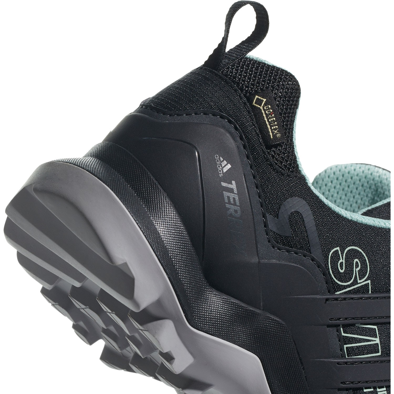 Adidad Terrex Swift R2 GTX Women's Approach Shoe - Core Black/Ash Green