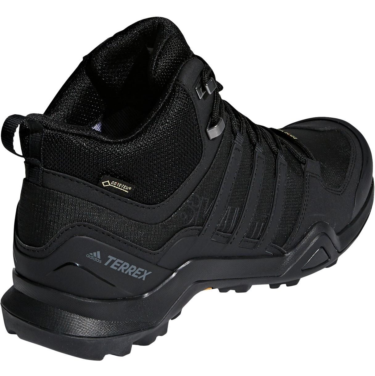Adidas Terrex Swift R2 Mid GTX Men's Approach Shoe - Core Black