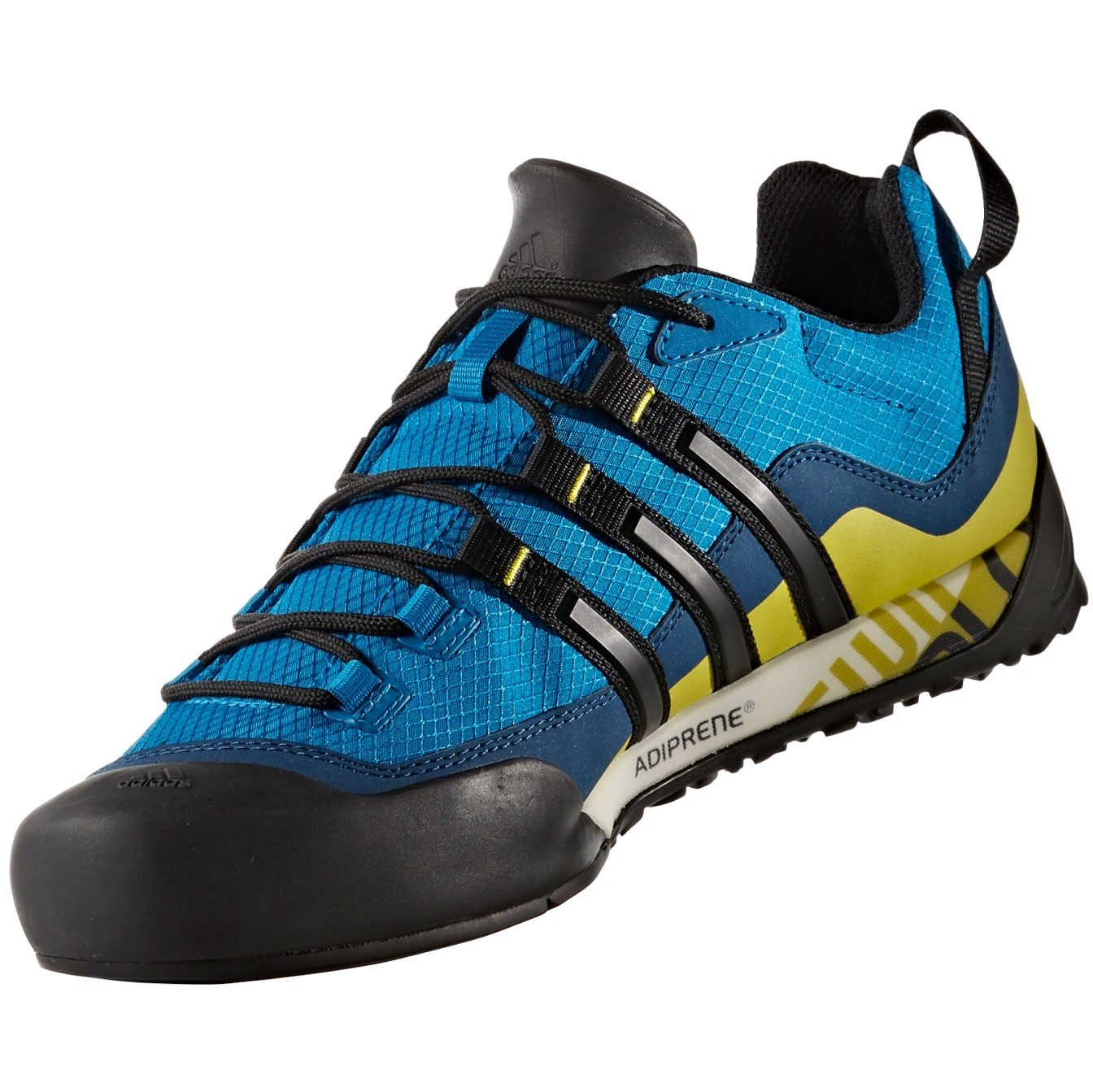 Adidas Terrex Swift Solo Approach Shoes - Blue/Yellow