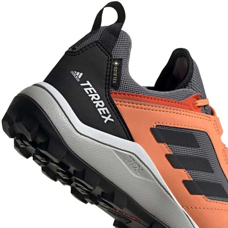 Adidas Terrex Agravic TR GTX Trail Running Shoes - Women's - Grey Three/Core Black/Amber