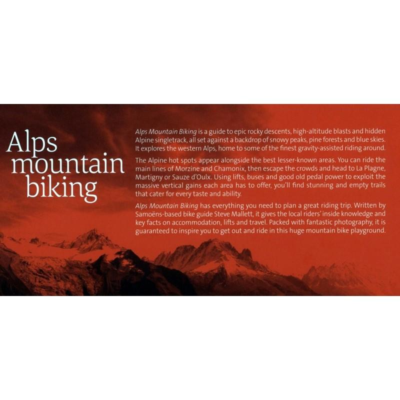 Alps Mountain Biking by Vertebrate Publishing