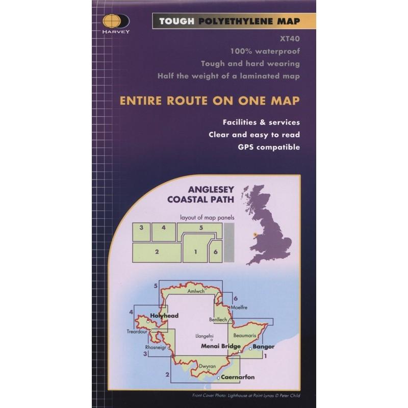 Anglesey Coast Path: Harvey XT40