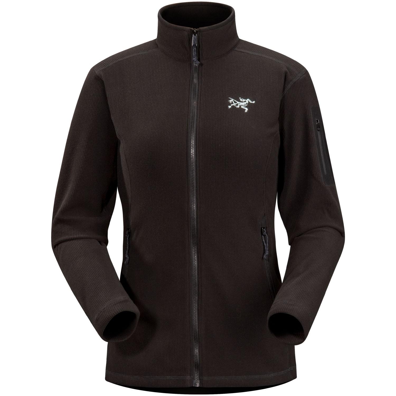 Arc'teryx Delta LT Women's Fleece Jacket - Black