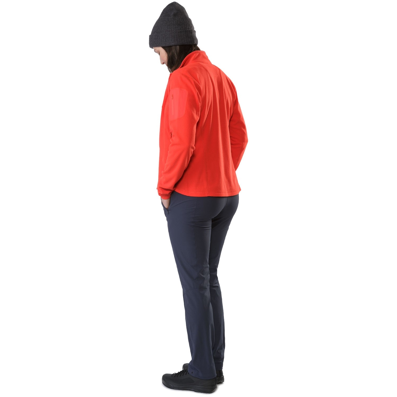 Arc'teryx Delta LT Women's Fleece Jacket - Hard Coral - back view